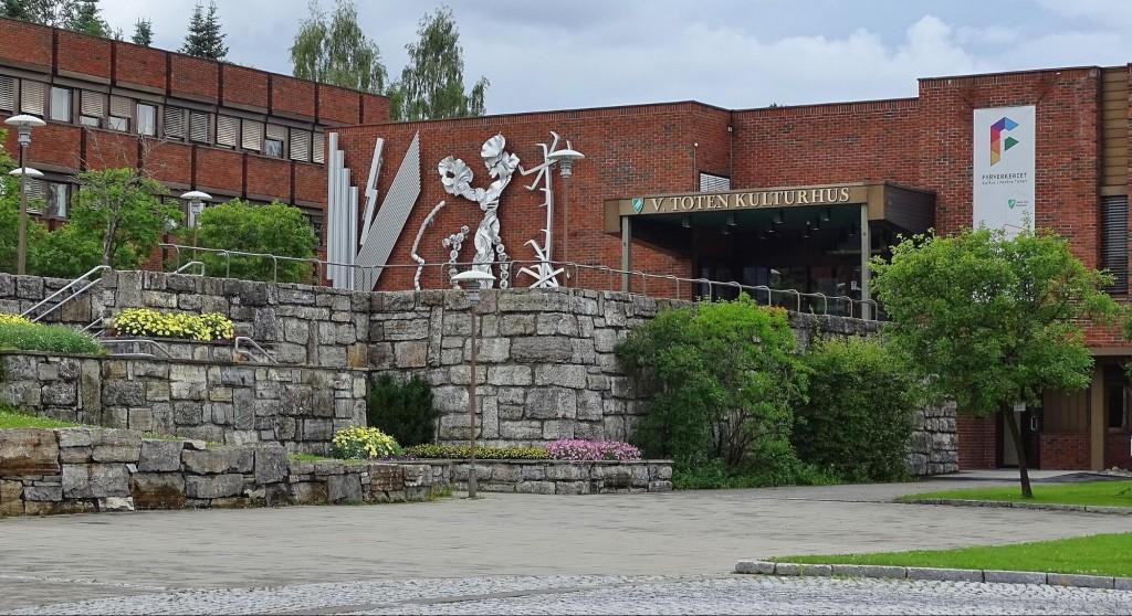 kommunehuset i Vestre Toten
