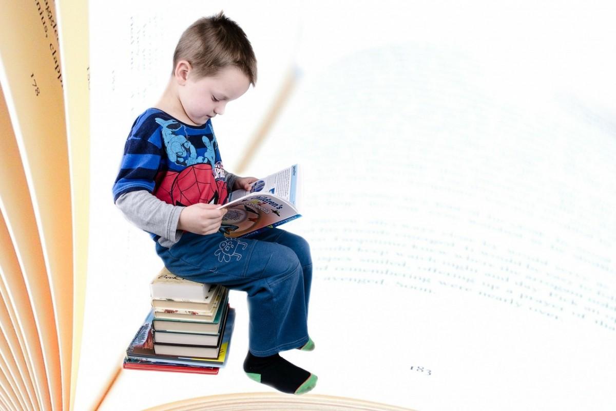 Barn som leser